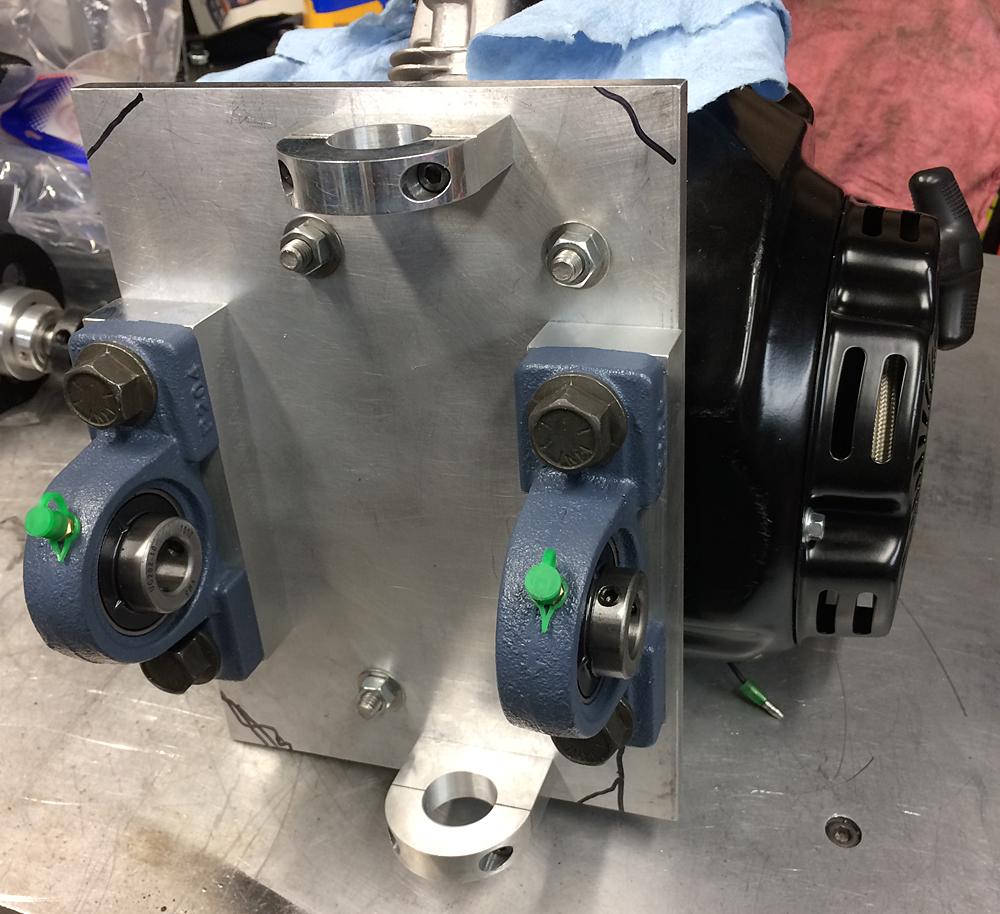 79cc Predator mounting plate.