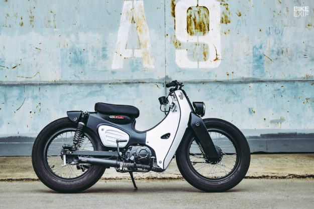 2018 SUPER CUB WITH A K-SPEED CUSTOM